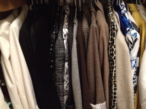 collection of blazers